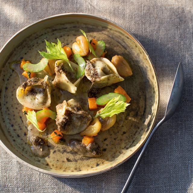 Rezept von Richard Rauch: Kastanien-Tortellini