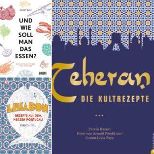 Neue Kochbücher: Valentinas Lieblinge im März 2018