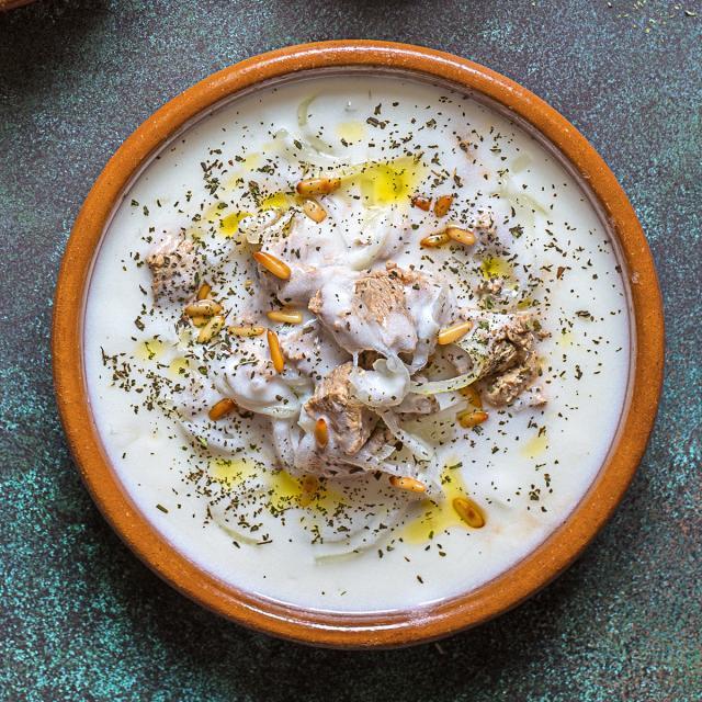Rezept von Fadi Alauwad: Lamm in Joghurtsoße