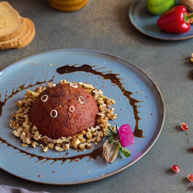 Rezept von Fadi Alauwad: Scharfe Paprika-Walnuss-Paste