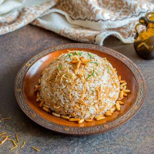 Rezept von Fadi Alauwad: Reis mit Fadennudeln