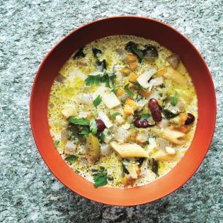 Rezept von Carlo Bernasconi: Chalet-Suppe