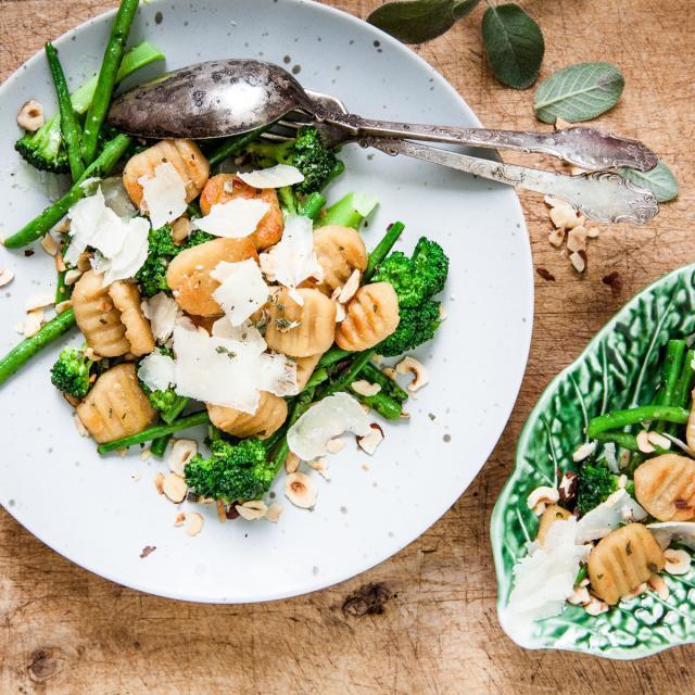 Rezept von Jenny Damberg: Bohnengnocchi mit Sardellenvinaigrette