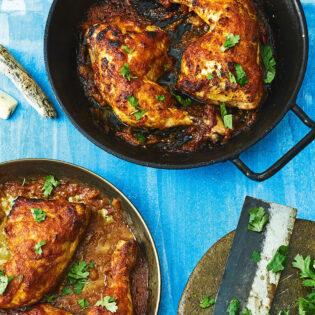 Rezept aus Pacific Food: Huli-Huli-Hähnchen aus dem Ofen