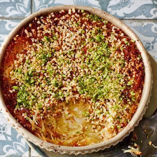 Rezept von Zohre Shahi: Süße überbackene Teigfäden