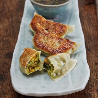 Rezept von Reiko Hashimoto: Vegetarische Gyōza
