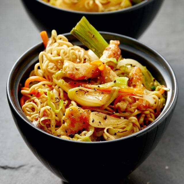 Rezept von Tanja Dusy: Chicken Lo Mein