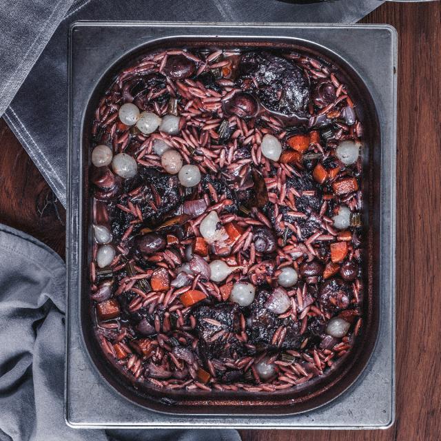 Rezept von Daniel Schimkowitsch: Porc au Vin