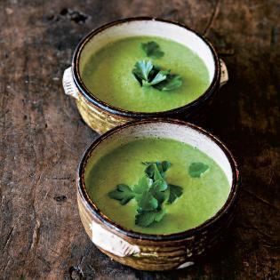 Rezept von Hugh Fearnley-Whittingstall: Sellerie-Petersilien-Suppe