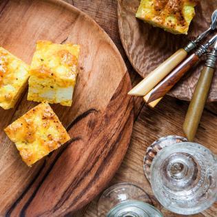Rezept von Okka Rohd: Blumenkohl-Parmesan-Kuchen