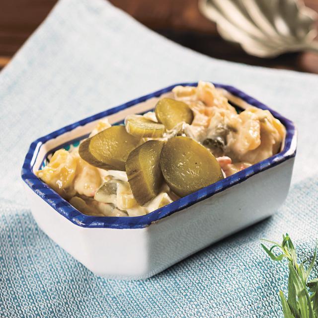 Rezept von Parvin Razavi: Persischer Kartoffel-Mayonnaise-Salat – Salad-e Olovieh