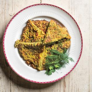 Rezept von Parvin Razavi: Zucchinifrittata
