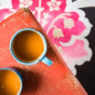 Rezept von Bree Hutchins: Ingwer-Koriander-Tee
