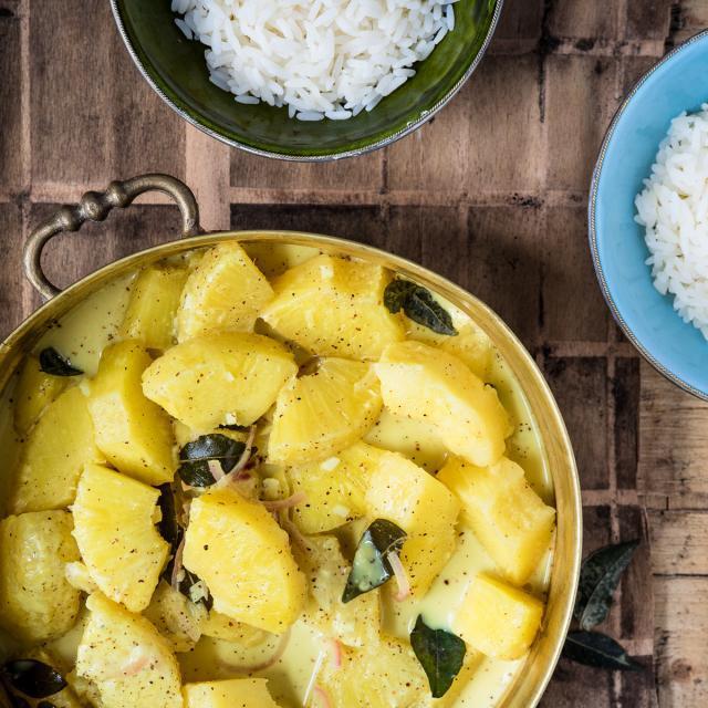 Rezept von Bree Hutchins: Ananas-Curry