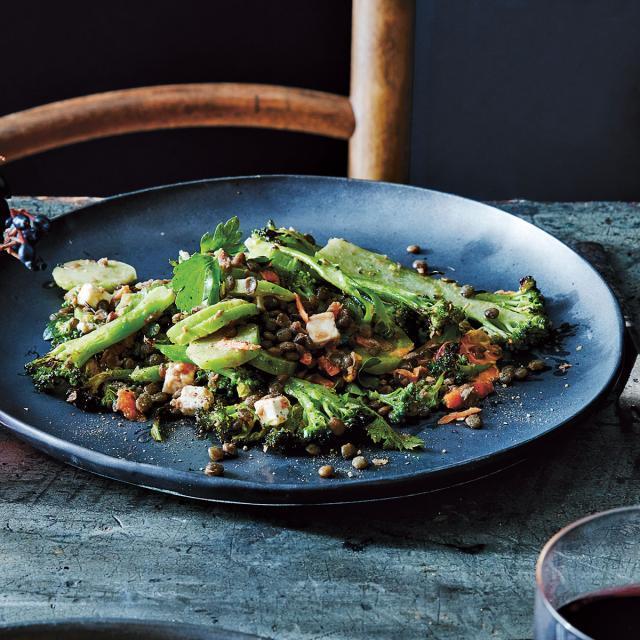 Rezept von Emily Connor: Brokkoli-Linsen-Salat