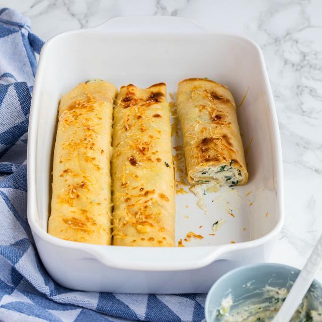 Rezept von Karin Stöttinger: Crespelle mit Zucchinifüllung