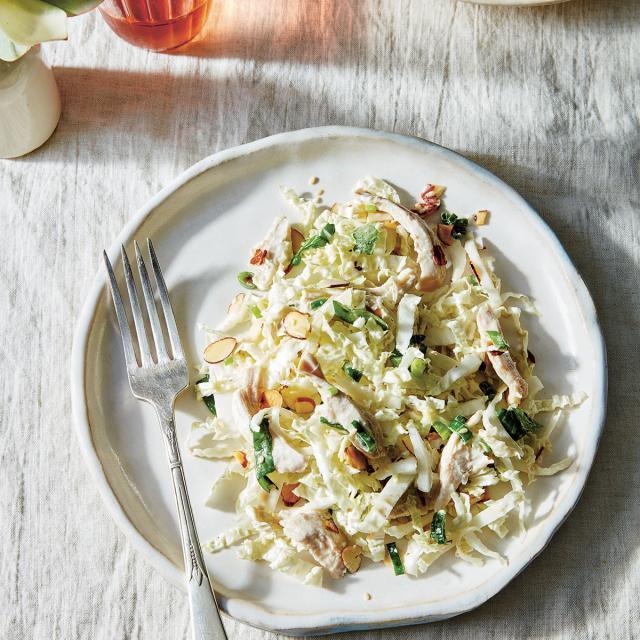 Rezept von Amanda Hesser: Krautsalat mit Hähnchen