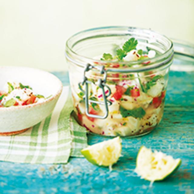 Rezept von Ursula Ferrigno: In Zitrussaft mariniertes Ceviche