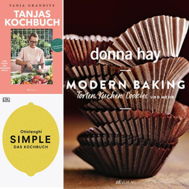Neue Autoren-Kochbücher: Valentinas Lieblinge im November 2018