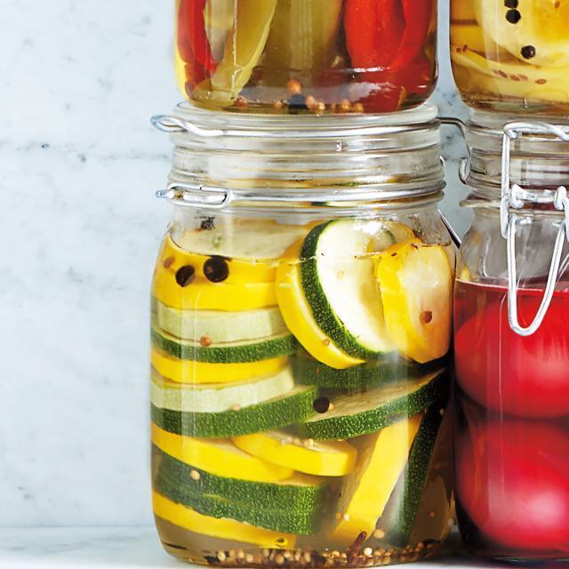 Rezept von Lisa Eisenman Frisk & Monica Eisenman: Eingelegte Zucchini