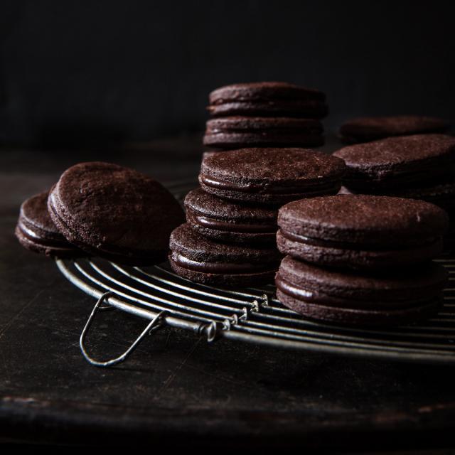 "Rezept von Yotam Ottolenghi & Helen Goh: Schoko-""O""-Cookies"