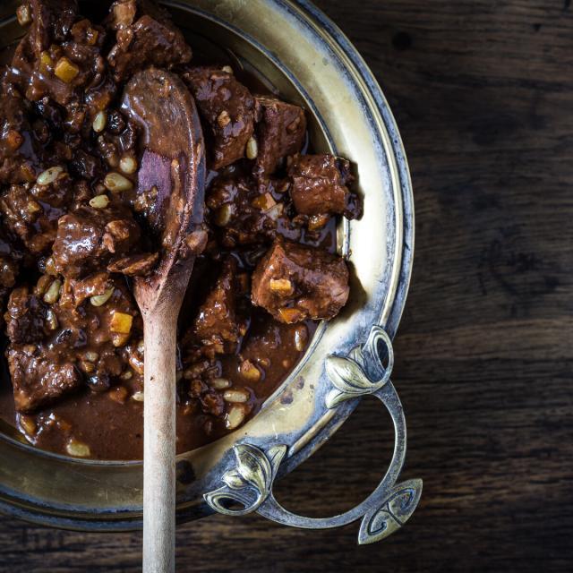 Rezept von Emiko Davies: Wildschwein mit Dolce-forte-Sauce