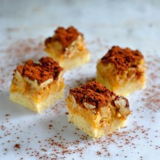 Rezept von Claudio Del Principe: Karamell-Nuss-Torte