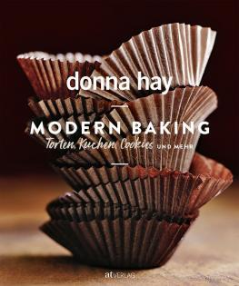Backbuch von Donna Hay: Modern Baking