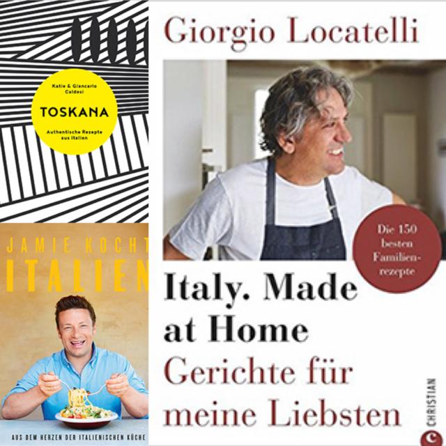 Neue Kochbücher italienische Küche: Valentinas Lieblinge im Oktober 2018