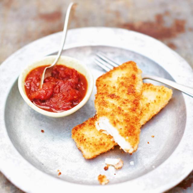 Rezept von Bart van Olphen: Fischstäbchen mit Ketchup