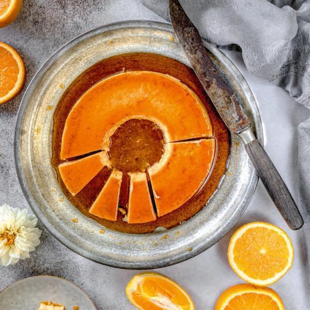 Rezept von Tanja Dusy: Orangenflan