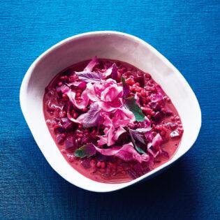 Rezept von Tanja Grandits: Rote-Bete-Kokos-Curry mit Gerste