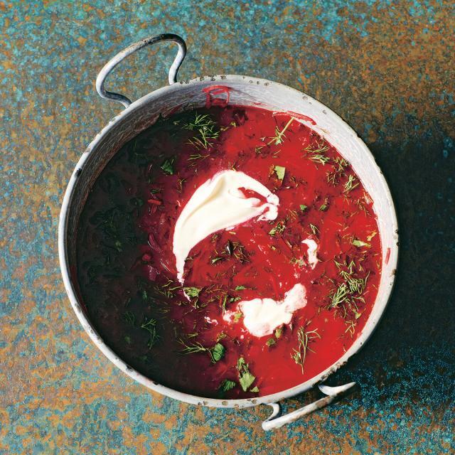 Rezept von Tiko Tuskadze: Borschtsch
