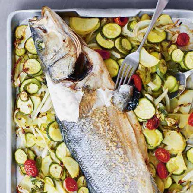 Rezept von Giorgio Locatelli: Ganzer gebackener Fisch