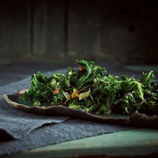 Rezept aus Dudu Kitchen: Grünkohlsalat