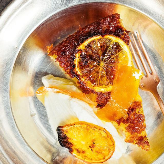 Rezept von Haya Molcho & Elihay Biran: Orangen-Olivenöl-Kuchen