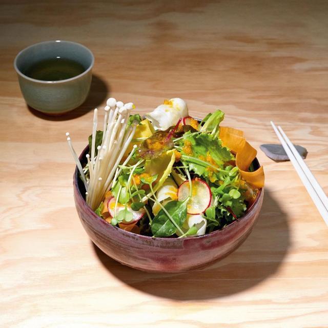 Rezept von Mochi: Sakura Salat