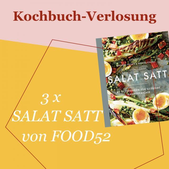 Kochbuch-Verlosung im Mai: 3 x SALAT SATT von Food52