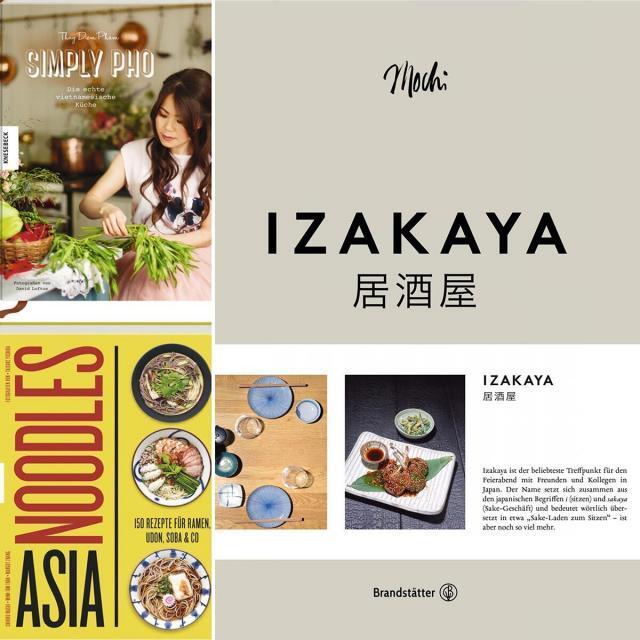 Neue Kochbücher Mai 2019: Asiatische Küche