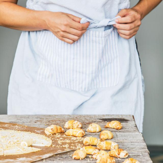 Rezept von Karin Stöttinger: Croissants mit Walnuss-Füllung