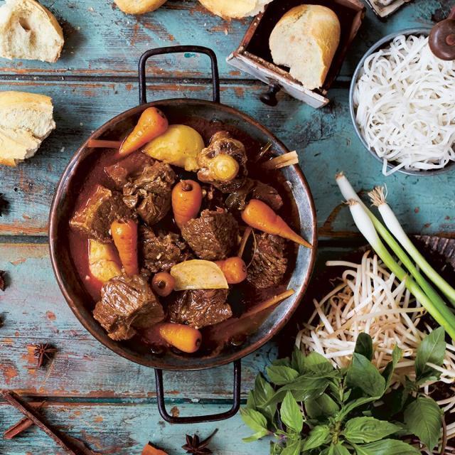 Rezept von Thuy Diem Pham: Rinderragout mit Kokos