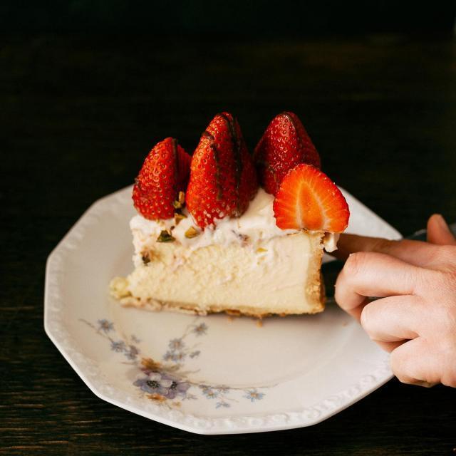 Rezept von Dilek Topkara: Vanilla Cheesecake mit Beeren