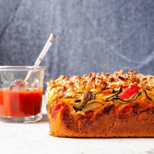 Rezept von Christelle Huet-Gomez: Zucchini und Tomate