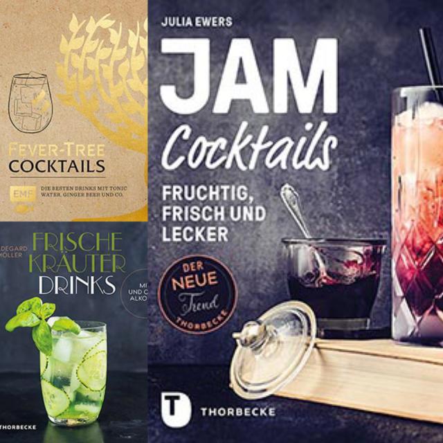 Neue Getränkebücher Juli 2019: Cocktails