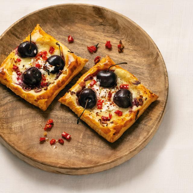 Rezept von Ilse König: Kirsch-Käse-Tartelettes