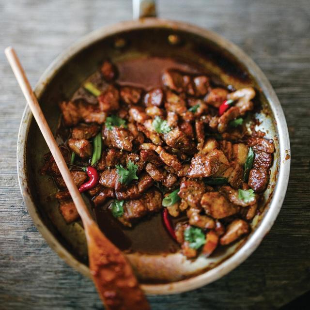 Rezept von Kim Thúy: Karamellisiertes Schweinefleisch