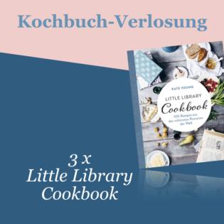 Kochbuch-Verlosung im August: 3 x Little Library Cookbook