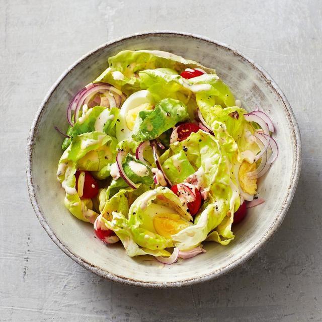 Rezept von Inga Pfannebecker: Chefsalat mit American Dressing