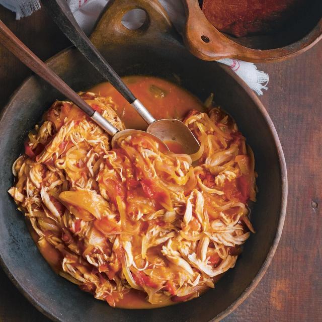 Rezept von Enrique Olvera: Chicken Tinga