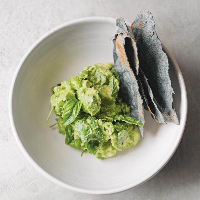 Rezept von Enrique Olvera: Guacamole mit Kräutern